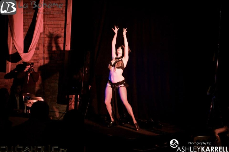 Photo: La Boheme Burlesque, Leeds