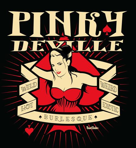 Pinky Deville logo